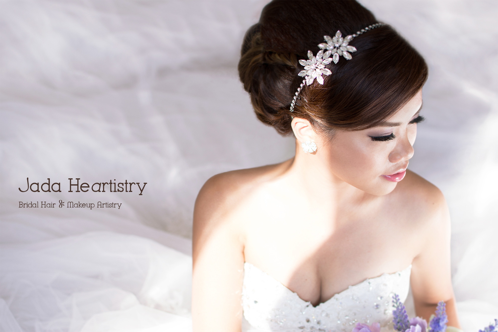 Traditional Chinese Bridal Makeup And Hairstyle Jada Heartistry Tags Updo Asian Wedding